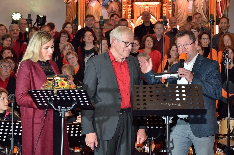 v.l.: Irene Fellner-Feldegg, Johann Wiesenbacher, Johann Reiterlehner