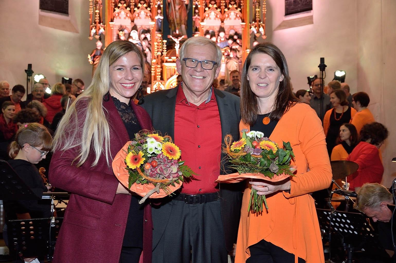 v.l.: Irene Fellner-Feldegg, Johann Wiesenbacher, Daniela Faschingleitner